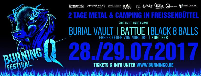 BurningQ 2017 Heavy Metal Festival Freißenbüttel