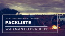 Packliste - Packdenkoffer.com