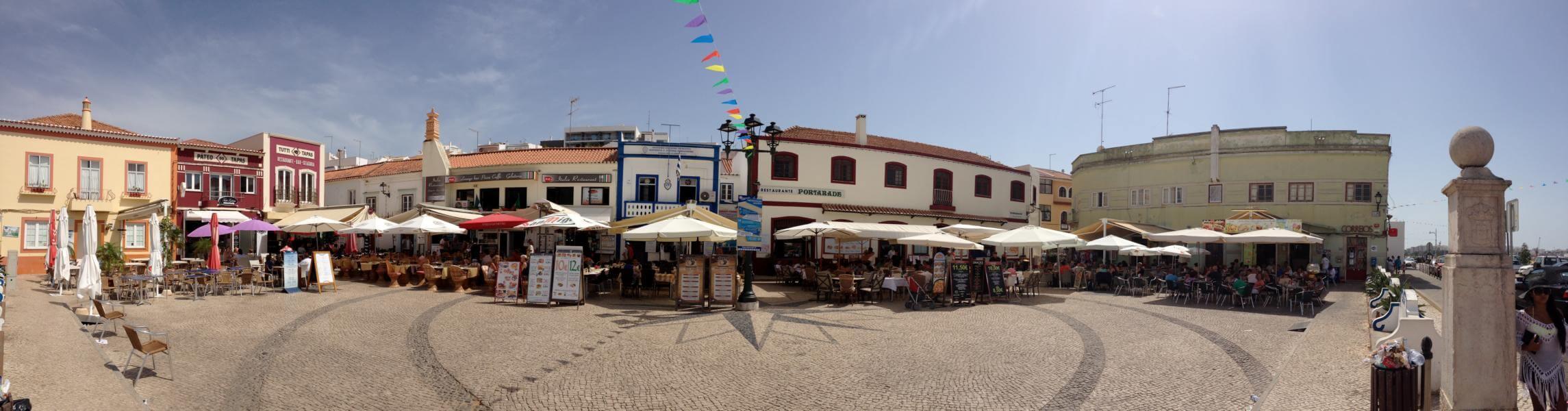 Ferragudo, das kleine Fischerdorf
