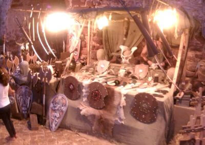 Silves Mittelaltermarkt Rüstungen