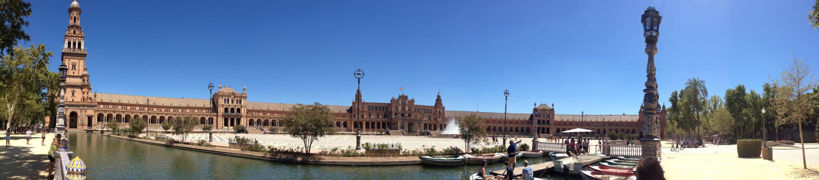 Plaza de Espana, Sevilla, Andalusien