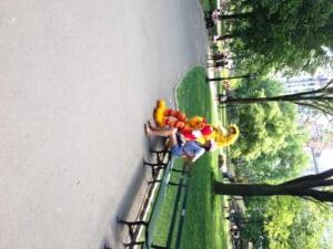 Bibo in Central Park