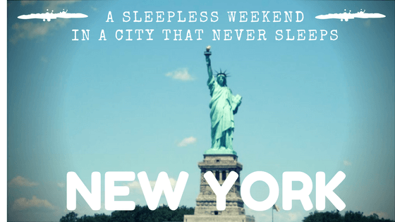 New York, The City That Never Sleeps!