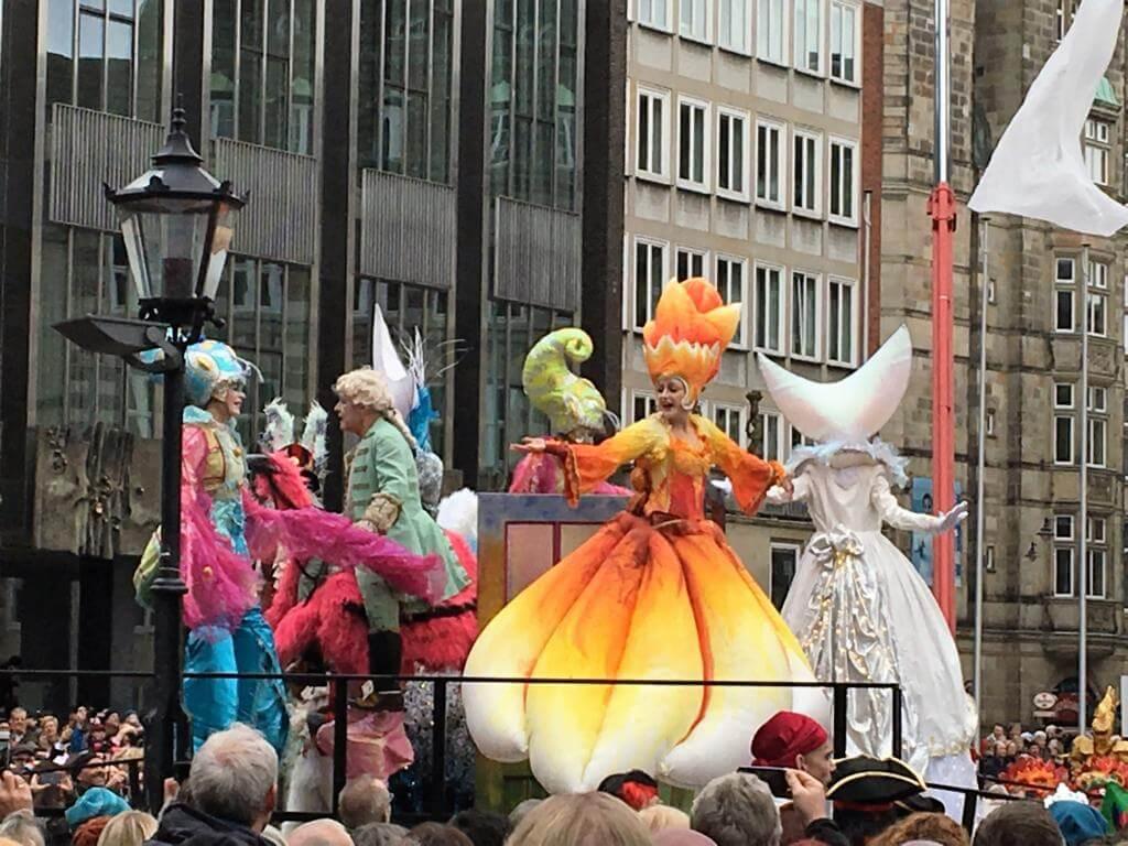 Samba Karneval Bremen 2017 Eröffnung Marktplatz
