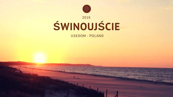 Usedom Poland Świnoujście wide beaches