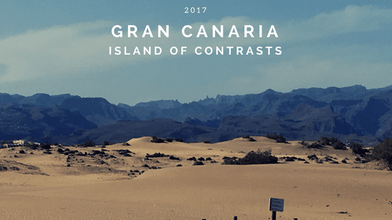 Gran Canaria in April swimming and sightseeing