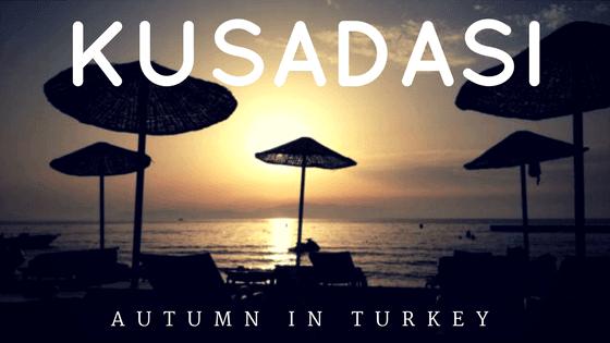 strand-mit-weniger-sonne, Kusadasi, Türkei