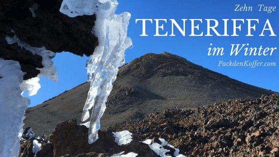 Urlaub auf Teneriffa im Januar