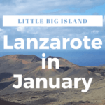 Lanzarote in January