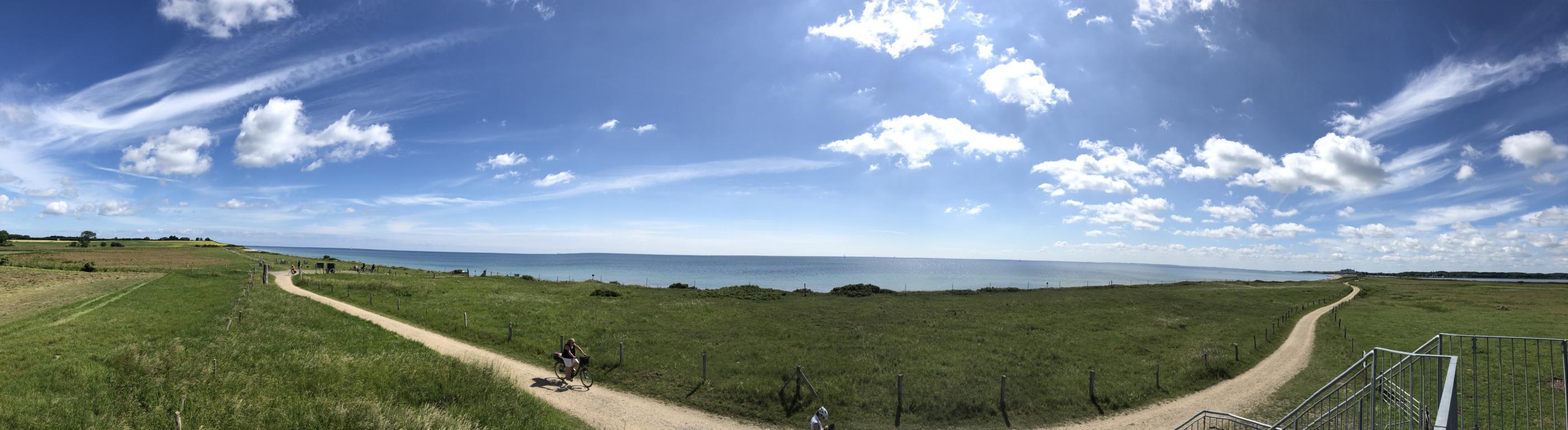 Panoramabild Ostseeradweg Erfahrungen