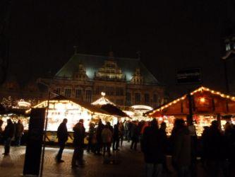Weihnachtsmarkt Bremen Rathaus