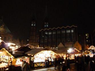 Weihnachtsmarkt Bremen Bürgerschaft und Dom