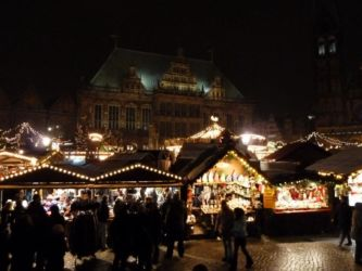 Weihnachtsmarkt Bremen Rathaus II