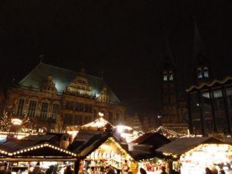 Weihnachtsmarkt Bremen Rathaus III