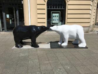 Zwei Berliner Bären.