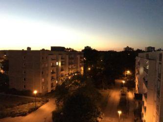 Romantisches Abendlicht in Drewitz