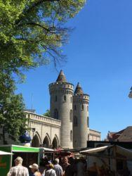 Nicht von Disney aber trotzdem ganz hübsch Nauener Tor Potsdam