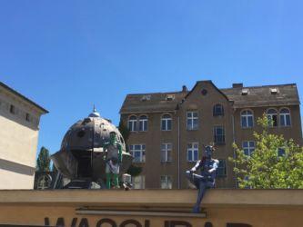Waschbar Potsdam - Landeplatz für Aliens